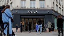 Zara owner Inditex books first loss, shifts to big stores and online