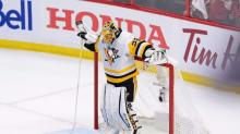 Marc-Andre Fleury's impact on Penguins evident even from bench