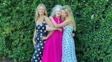 3 Generations! Gwyneth Paltrow Looks Radiant with Mother Blythe Danner and Daughter Apple Martin