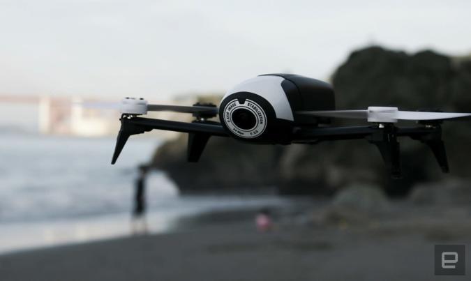 Parrot brings fancy follow-me features to its Bebop 2 drone