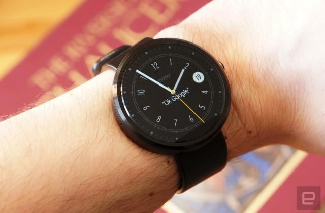 Your original Moto 360 isn't getting Android Wear 2.0