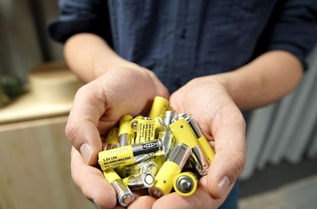 Ikea will stop selling non-rechargeable alkaline batteries by October 2021