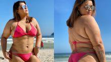 Preta Gil exibe as curvas de biquíni e fãs provocam Mayra Cardi