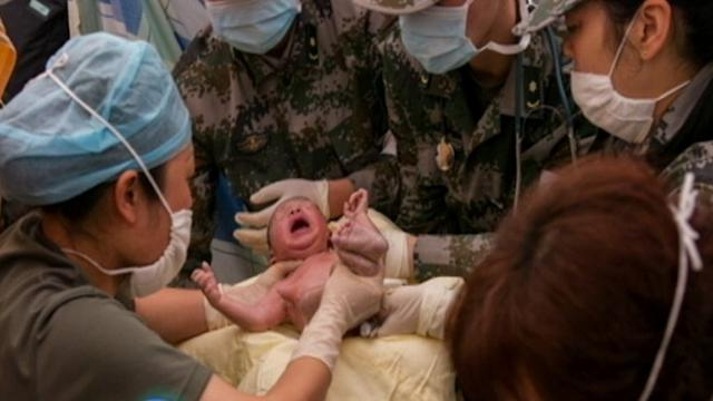 Instant Index: Miracle Baby Born in China