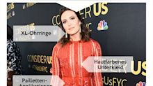 Look des Tages: Mandy Moore in Trendfarbe Rot