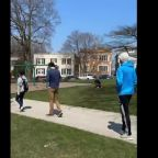 Timelapse Shows Line to Vote in Wisconsin Primary Winding Through Milwaukee Neighborhood