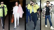 Bollywood celebrities beat the winter chills with fun outerwear