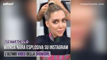 Wanda Nara esplosiva su Instagram