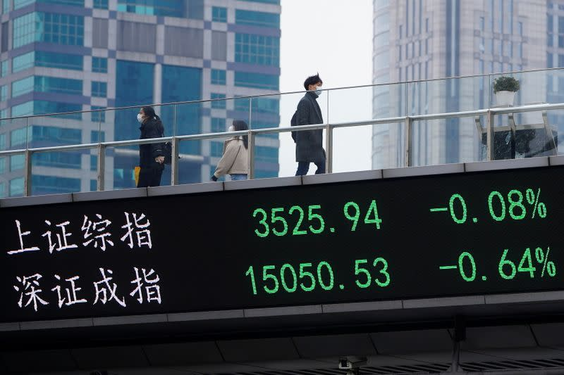 Asian shares, oil hit by coronavirus risks to outlook