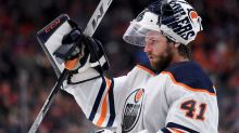 Edmonton Oilers' Mike Smith Records Historic Shutout in Win Over Canucks
