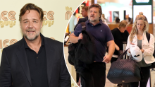Russell Crowe, 55, steps out with 29-year-old ex co-star