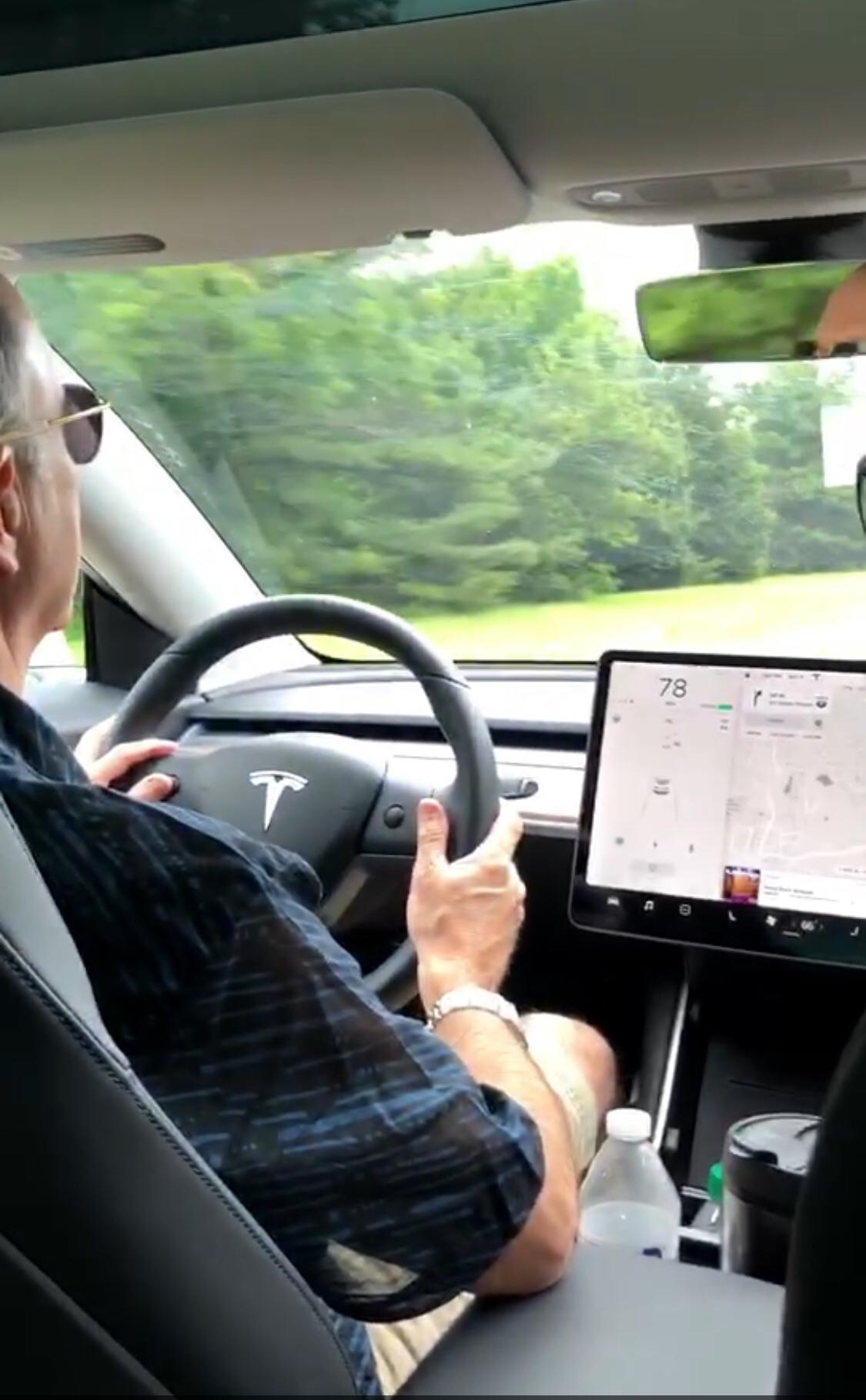 What happens when you take a Tesla on a summer road trip