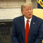 Trump says almost sure Iran behind Saudi attacks