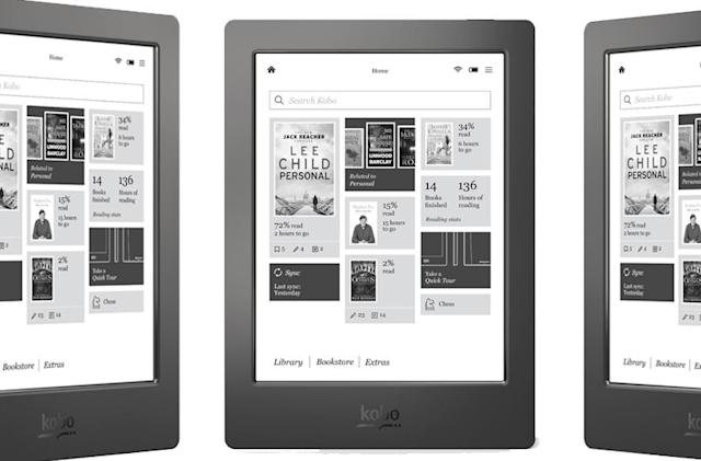 Kobo's Aura H20 lets you read in the bath