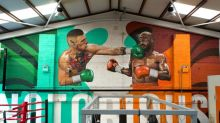 McGregor's coach had Mayweather mural done to 'aid Conor with visualization of his success'