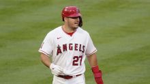 Angels star Mike Trout out 6 to 8 weeks due to calf strain