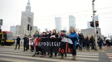 Thousands join 'Black Friday' marches against Polish abortion restrictions