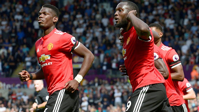 Man United pulls away from Swansea City