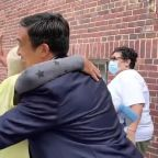 Andrew Yang Greets Supporters in the Bronx on Mayoral Primary Day