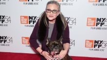 Carrie Fisher Honored By Brother Todd and Beloved Dog Gary Ahead of 'Last Jedi' TCL Chinese Theatre Opening