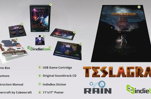 IndieBox ships mystery PC games monthly, starting with Teslagrad