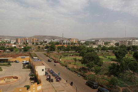 A general view shows the ACI 2000 neighborhood in Bamako, Mali