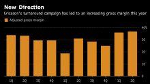 Ericsson CEO Hits Stride as Turnaround Rewards Investor Patience