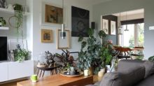Artist in residence: the London home and backdrop of a portraitist