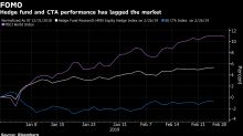 Hedge-Fund Resistance Hardens as $10 Trillion Stock Rally Builds