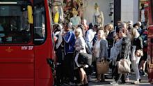 UK GDP growth slower than expected as inflation bites
