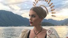 Este impactante vestido provocó el llanto de la sobrina fashion de Lady Di