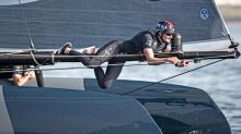 America's Cup 2017: Once rivals, now Giles Scott and Ben Ainslie find themselves in the same boat