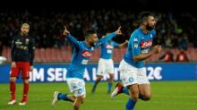 Naples se rapproche de la Juve