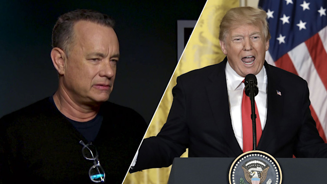 Tom Hanks: Being President is 'one of the crappiest jobs' in the world