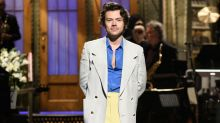 Harry Styles Shades Former Bandmate Zayn Malik — and Takes Off His Pants — in SNLHosting Debut