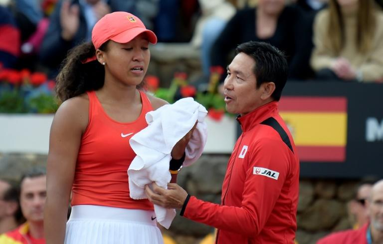 Image result for naomi osaka fed cup 2020