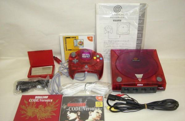 Limited edition red 'Resident Evil Code: Veronica' Dreamcast pops up on eBay