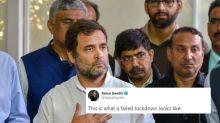 Rahul Gandhi's 'Failed Lockdown' Graph to Roast Modi Govt Backfires