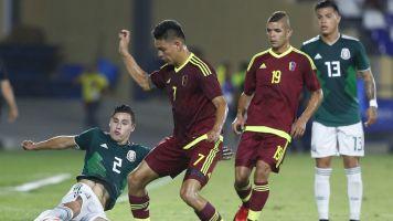 La Selección mexicana Sub 21 cayó en su debut en los Centroamericanos