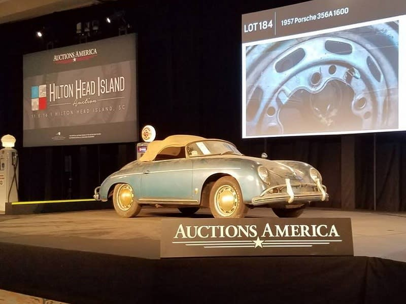This 356 Speedster Barn Find Just Sold For 605000