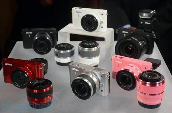 Nikon unveils V1 and J1 mirrorless cameras: 10.1MP CMOS, 1080p video, ships in October for $650+ (video)