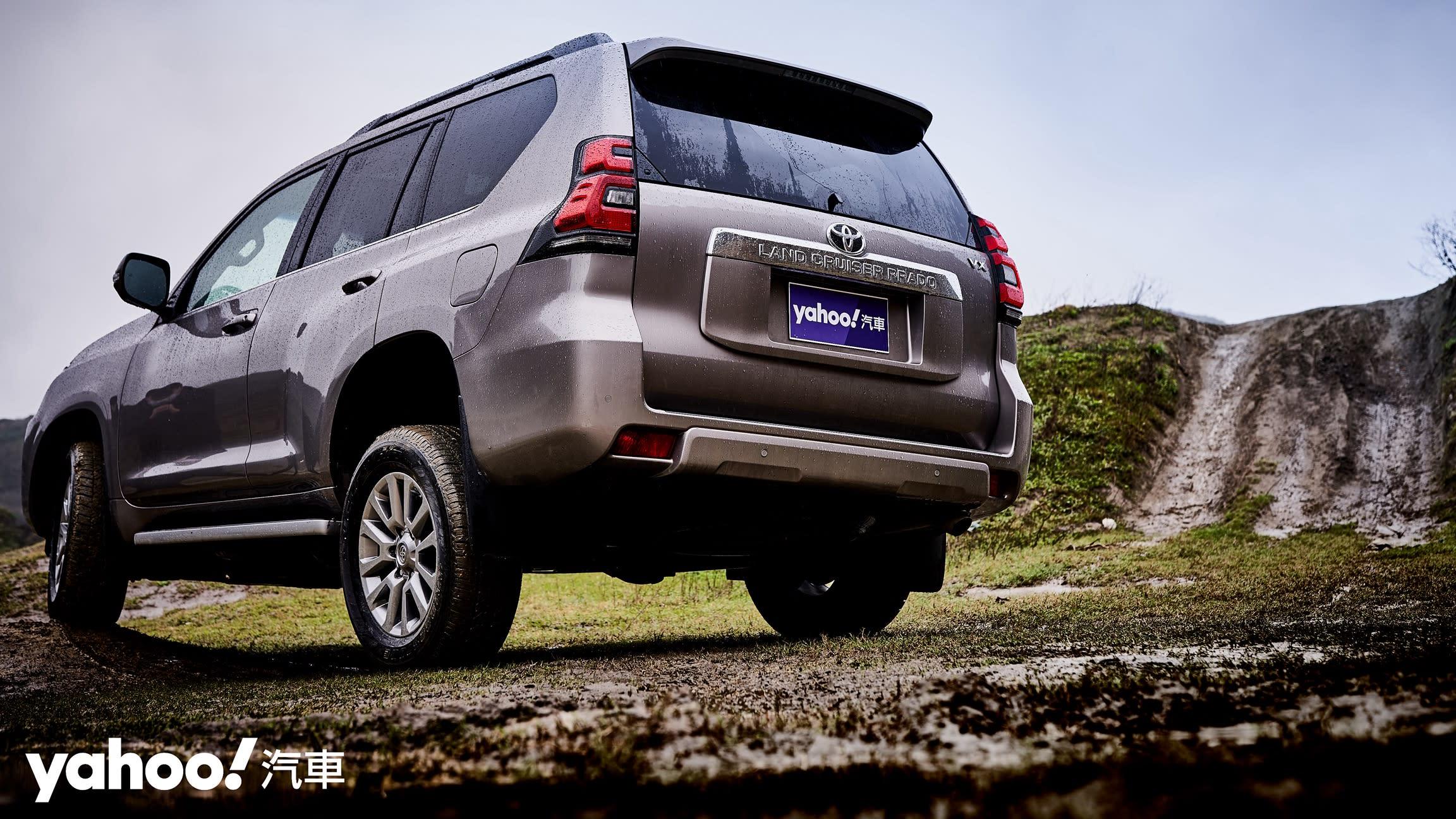 溫馴樣貌下的狂野從未改變!2021 Toyota小改款Land Cruiser Prado綜合試駕!