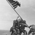US marine in classic Iwo Jima photo was wrongly identified, historians find