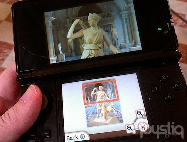 Games are art: 3DS Louvre Guide coming to eShop next week