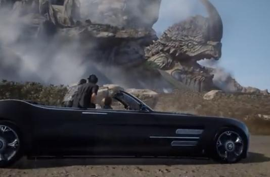 You'll be able to drive a car in 'Final Fantasy XV'