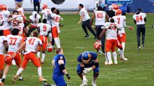 Last-minute TD lifts Sam Houston State to wild win over South Dakota State in FCS championship game