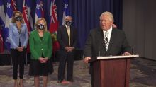 Ford, Legault call on Ottawa to boost health transfers