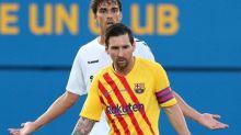 El enojo y reacción de Messi contra el defensor que lo marcó en el primer amistoso de la era Koeman