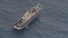 Ecuador navy surveils large Chinese fishing fleet near Galapagos