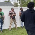 Floyd Protesters Met With Armed Bystanders During Indiana March